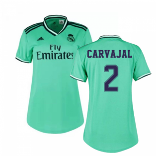 2019-2020 Real Madrid Adidas Womens Third Shirt (CARVAJAL 2)