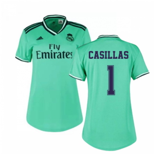 2019-2020 Real Madrid Adidas Womens Third Shirt (CASILLAS 1)