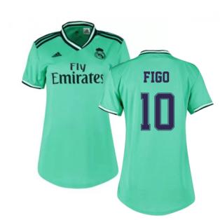 2019-2020 Real Madrid Adidas Womens Third Shirt (FIGO 10)