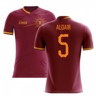 2019-2020 Roma Home Concept Football Shirt (ALDAIR 5)