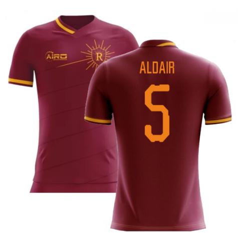 2020-2021 Roma Home Concept Football Shirt (ALDAIR 5)