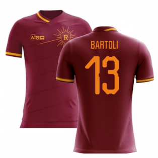 2020-2021 Roma Home Concept Football Shirt (Bartoli 13)