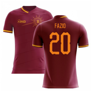 2019-2020 Roma Home Concept Football Shirt (FAZIO 20)