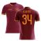 2020-2021 Roma Home Concept Football Shirt (KLUIVERT 34)
