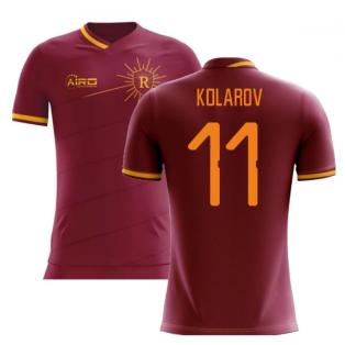 2020-2021 Roma Home Concept Football Shirt (KOLAROV 11)