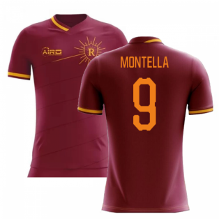 2019-2020 Roma Home Concept Football Shirt (MONTELLA 9)