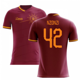 2020-2021 Roma Home Concept Football Shirt (NZONZI 42)
