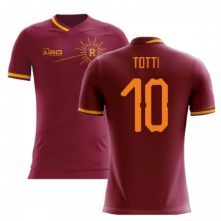 2020-2021 Roma Home Concept Football Shirt (TOTTI 10)