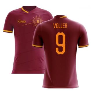 2020-2021 Roma Home Concept Football Shirt (VOLLER 9)