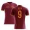 2020-2021 Roma Home Concept Football Shirt (Zecca 9)