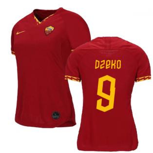 2019-2020 Roma Home Nike Ladies Shirt (DZEKO 9)