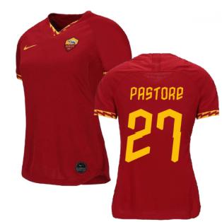 2019-2020 Roma Home Nike Ladies Shirt (PASTORE 27)