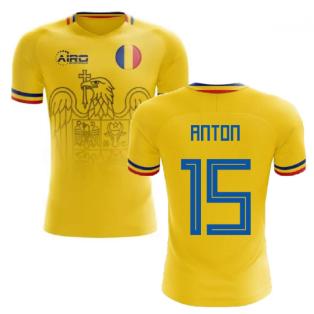 2020-2021 Romania Home Concept Football Shirt (Anton 15)