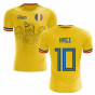 2020-2021 Romania Home Concept Football Shirt (Hagi 10)