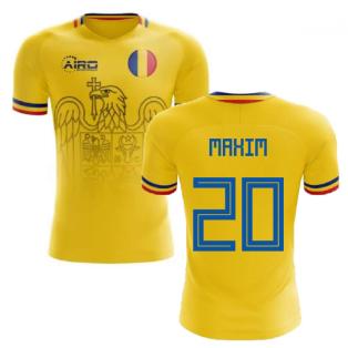 2020-2021 Romania Home Concept Football Shirt (Maxim 20)
