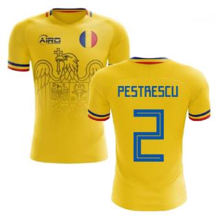 2020-2021 Romania Home Concept Football Shirt (Pestrescu 2)