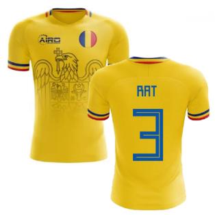 2020-2021 Romania Home Concept Football Shirt (Rat 3)