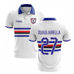 2020-2021 Sampdoria Away Concept Football Shirt (QUAGLIARELLA 27)