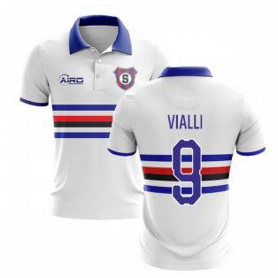 2019-2020 Sampdoria Away Concept Football Shirt (VIALLI 9)