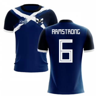2019-2020 Scotland Flag Concept Football Shirt (Armstrong 6) - Kids