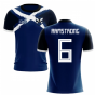 2019-2020 Scotland Flag Concept Football Shirt (Armstrong 6)