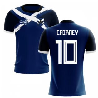 2019-2020 Scotland Flag Concept Football Shirt (Cairney 10)