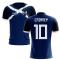 2019-2020 Scotland Flag Concept Football Shirt (Cairney 10)