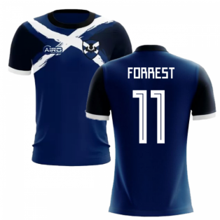 2019-2020 Scotland Flag Concept Football Shirt (Forrest 11)