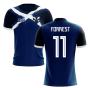 2020-2021 Scotland Flag Concept Football Shirt (Forrest 11)