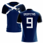 2019-2020 Scotland Flag Concept Football Shirt (Griffiths 9)