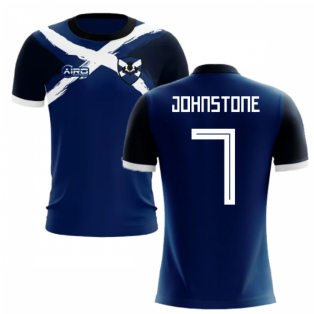 2019-2020 Scotland Flag Concept Football Shirt (Johnstone 7)