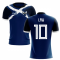 2019-2020 Scotland Flag Concept Football Shirt (Law 10)