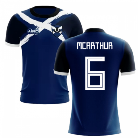 2019-2020 Scotland Flag Concept Football Shirt (McArthur 6) - Kids