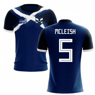2019-2020 Scotland Flag Concept Football Shirt (McLeish 5)