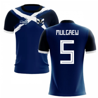 2019-2020 Scotland Flag Concept Football Shirt (Mulgrew 5) - Kids