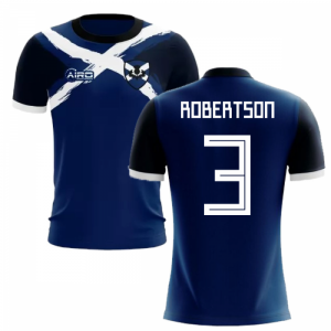 2020-2021 Scotland Flag Concept Football Shirt (Robertson 3)
