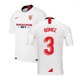 2019-2020 Sevilla Home Nike Football Shirt (GOMEZ 3)