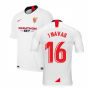 2019-2020 Sevilla Home Nike Football Shirt (J NAVAS 16)