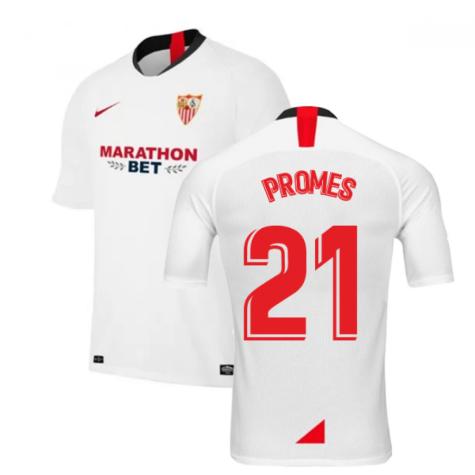 2019-2020 Sevilla Home Nike Football Shirt (PROMES 21)