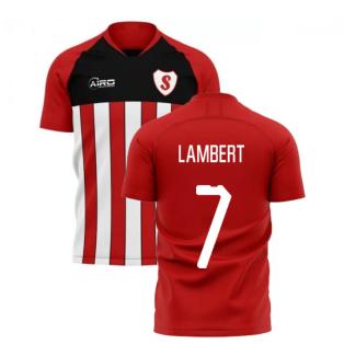 2019-2020 Southampton Home Concept Football Shirt (LAMBERT 7)