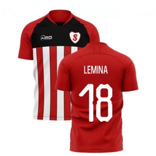 2020-2021 Southampton Home Concept Football Shirt (LEMINA 18)