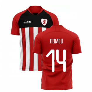 2019-2020 Southampton Home Concept Football Shirt (ROMEU 14)