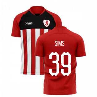 2019-2020 Southampton Home Concept Football Shirt (SIMS 39)