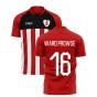 2020-2021 Southampton Home Concept Football Shirt (WARD PROWSE 16)