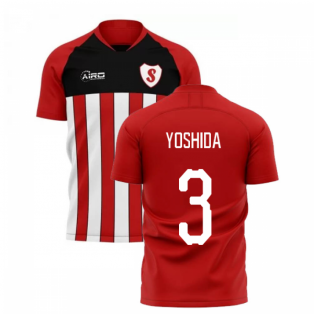 2019-2020 Southampton Home Concept Football Shirt (YOSHIDA 3)