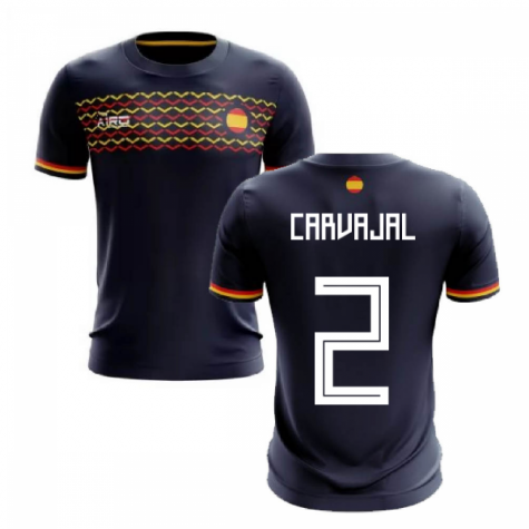 2020-2021 Spain Away Concept Football Shirt (Carvajal 2)