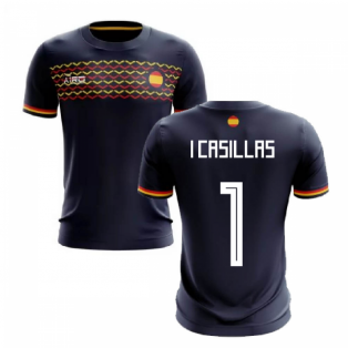 2019-2020 Spain Away Concept Football Shirt (I Casillas 1)