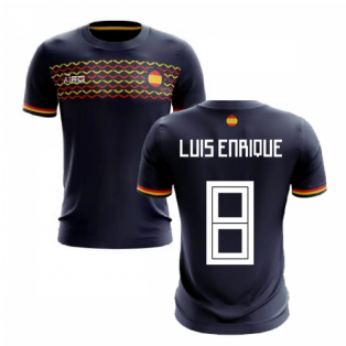 2019-2020 Spain Away Concept Football Shirt (Luis Enrique 8)