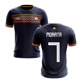 2020-2021 Spain Away Concept Football Shirt (Morata 7)