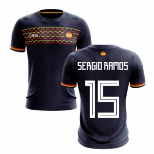 2019-2020 Spain Away Concept Football Shirt (Sergio Ramos 15)